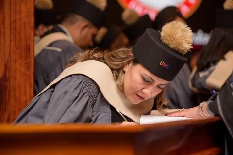 Graduación Clansy Mendizabal
